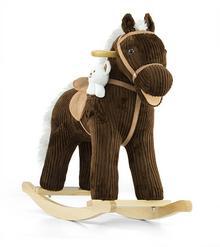 Milly Mally Pony Bruno koń na biegunach brązowy