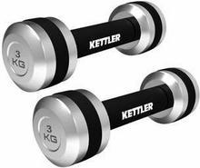 Kettler Hantle chromowane 2 x 3kg 07371-070