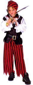 FUNNY FASHION Strój karnawałowy Pirat Jacky 411026