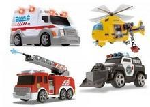 Dickie Toys Małe pojazdy ratunkowe - mix