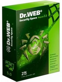 Dr.Web Security Space 5.0 (1 stan. / 2 lata) - Nowa licencja