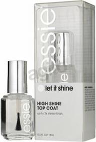 Essie Top Coat Let It Shine nawierzchniowy dający wysoki połysk 15ml
