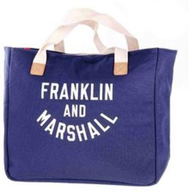 FRANKLIN & MARSHALLTorba - Varsity shopper - dark blue solid (25)