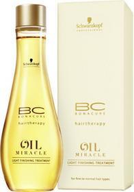 Schwarzkopf BC Oil Miracle Light Olejek Finishing Treatment 100ml
