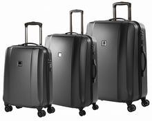 Titan Zestaw walizek z poliwęglanu Xenon Deluxe - szary 816404-04, 816405-04