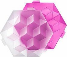 Lekue Foremki do lodu Ice Cube Giant różowe 0250600R15C004