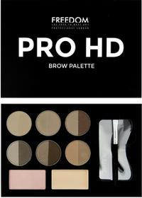 Freedom PRO HD BROW PALETTE zestaw do stylizacji brwi Fair Medium