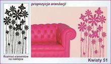 Naklejka Kwiaty, Ornamenty nr 51