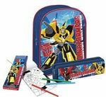 Starpak Zestaw Prezentowy Plecak i akcesoria Transformers 336130