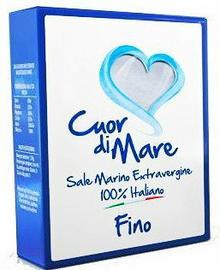 Cuor di Mare sól morska drobno mielona 1kg