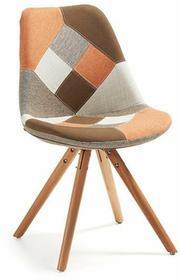 LaForma Krzesło Lars Pomarańczowe (nogi drewniane) EC005J13