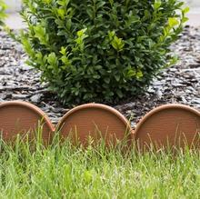 Prosperplast Palisada ogrodowa obrzeże 10m x 9cm Garden Line Terakota (Jasny Brą