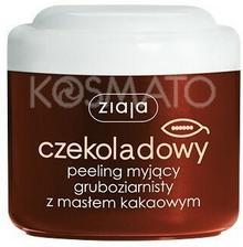Ziaja Masło Kakaowe Czekoladowy Peeling Myjšcy Gruboziarnisty, 200 ml