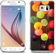Etuo.pl Foto Case - Samsung Galaxy S6 - etui na telefon Foto Case - lampki ETSM172FOTOFT084000