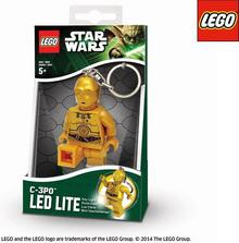 Lego Brelok LED Star Wars C-3PO LGL-KE18