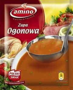 Amino Zupa Ogonowa 57g Ceny Dane Techniczne Opinie Na Skapiec Pl