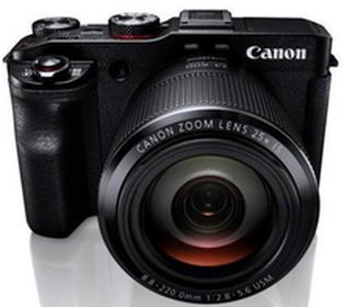 CanonG3X czarny