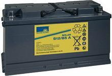 EXIDE Sonnenschein Akumulator ołowiowy 85 Ah, sucha bateria słoneczna S12/85,6S