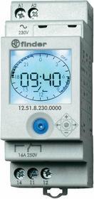 Finder Programator tygodniowy/dobowy elektroniczny 1P 230V AC 12.51.8.230.0000