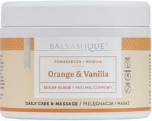 Balsamique Peeling cukrowy Pomarańcza z Wanilią