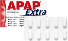 US Pharmacia Apap Extra 500mg + 65mg 10 szt.