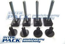 Adapter Inter Pack T-profil (wsuwki) - do belek z rowkiem T