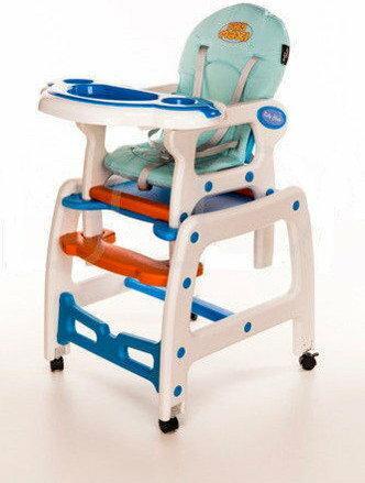 Baby Maxi 5w1 biało/niebieskie