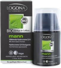 Logona krem nawilżający z koenzymem Q10 - 50ml - Seria mann dla mężczyzn -