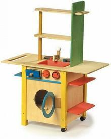 Legler Kuchnia wielofunkcyjna do zabawy dla Dzieci Duża 1133
