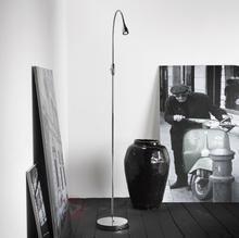 Nordlux Regulowana lampa stojąca LED Mento chrom