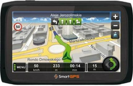 SmartGPSSG720 AutoMapa Polska