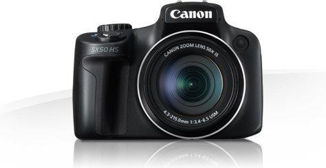 Canon PowerShot SX50 HS czarny