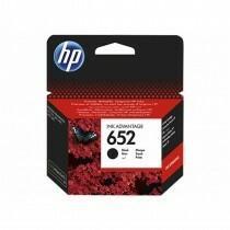 HP Tusz Ink/652 Black Cart F6V25AE#BHK