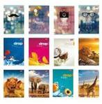Unipap Zeszyt A5 60 kartek w kratkę dziewczęcy 1