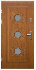 Radex Drzwi zewnętrzne Lucjusz 90 lewe złoty dąb