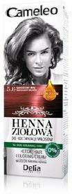 DELIA Delia Cosmetics Cameleo Henna Ziołowa 5.6 mahoniowy brąz