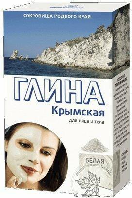 Fitocosmetic Krymska Glinka Biała Matująca 100% naturalna 100g