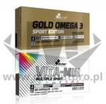 Olimp Vita-Min Multiple Sport 60 kaps. + Gold Omega 3 Sport Edition