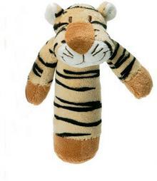 Teddykompaniet Diinglisar Wild Grzechotka - Tygrys 13 cm