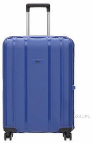 Stratic walizka podróżna średnia M na 4 kółkach, 64L Safe - Niebieski 3-9662-65*5