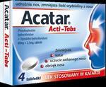US Pharmacia Acatar Acti-Tabs 4 szt.
