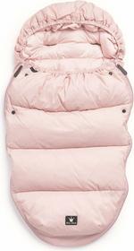 Elodie Details puchowy śpiworek do wózka różowy