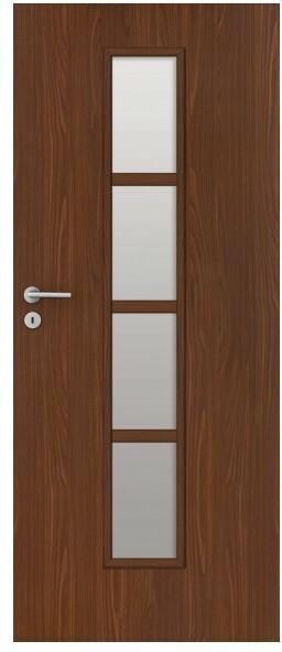 Drzwi pokojowe Olga 80 prawe orzech