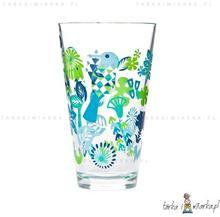 Sagaform Szklanki duże 300 ml Fantasy, 4-pak, niebiesko-zielone