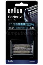 Braun Folia + Blok ostrzy Series 32B black