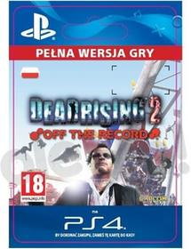 Sony Dead Rising 2 Off The Record [kod aktywacyjny] Dostęp po opłaceniu zakupu