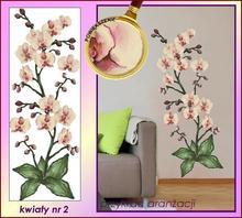 Naklejka Malowane Orchidee nr 2