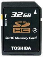 Toshiba SDHC Class4 32GB