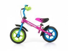 Milly Mally Rowerek biegowy Dragon z hamulcem multicolor