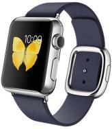 Apple Watch 38 mm Stal / Nocny Błękit